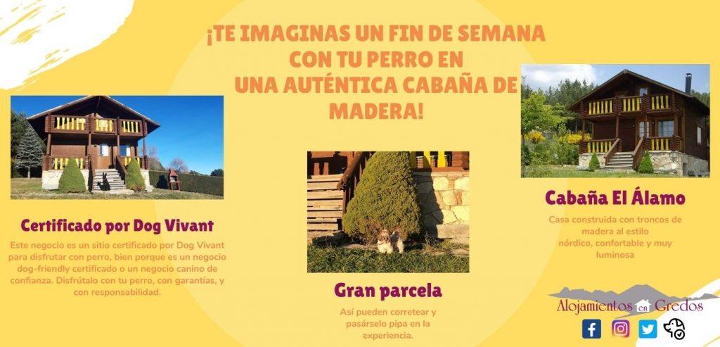 Cabaña de madera en la Sierra de Gredos